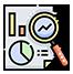 Digital Marketing and Analytics Icon