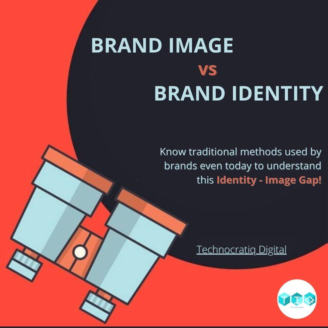 Brand Image vs Brand Identity