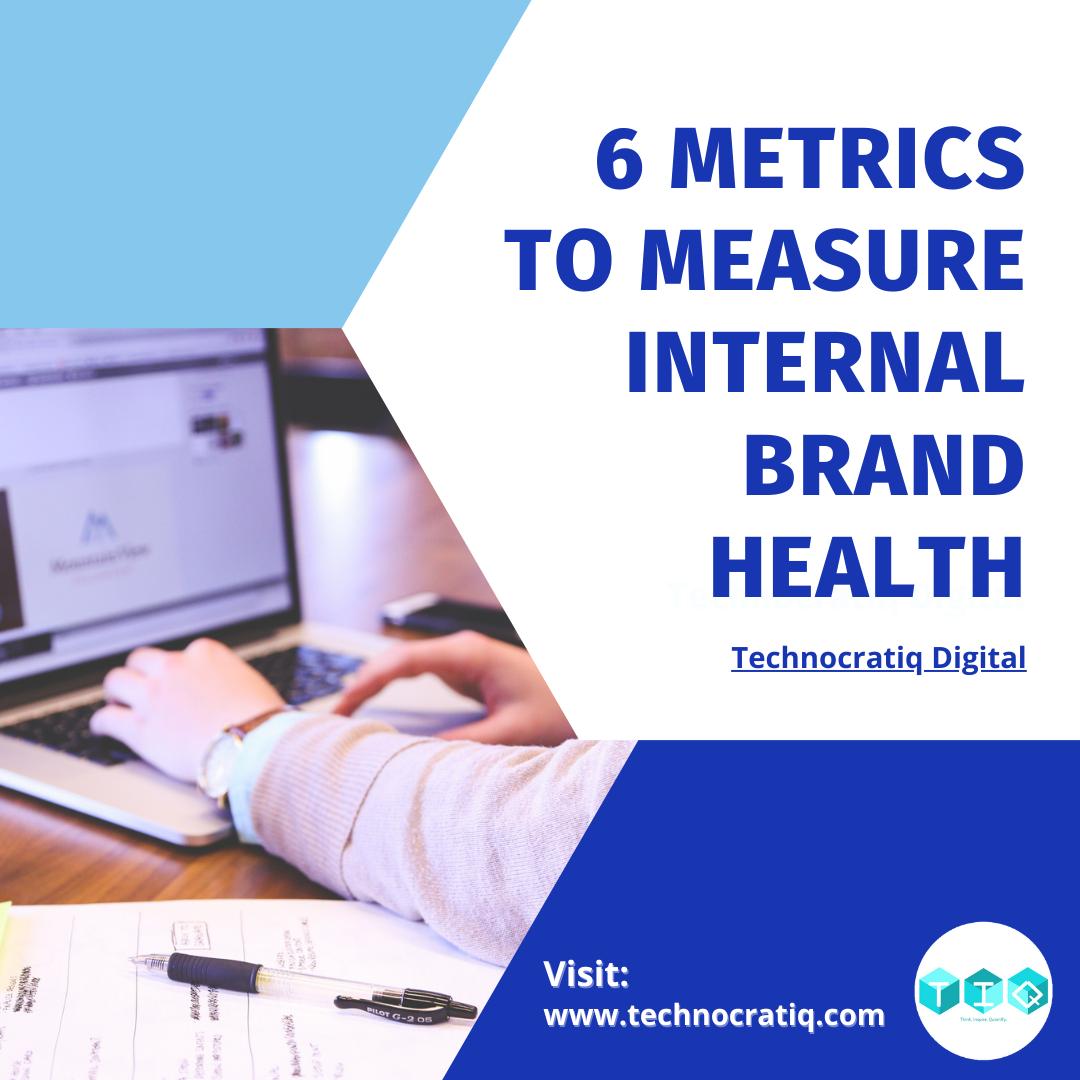 Metricts to measure Internal Brand Health
